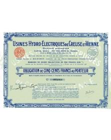 Usines Hydro-Electriques de Creuse et Vienne