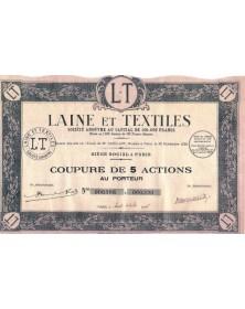 Laine et Textiles
