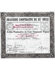 Brasserie Coopérative du XXè Siècle