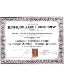 The French Metropolitan General Electric Company