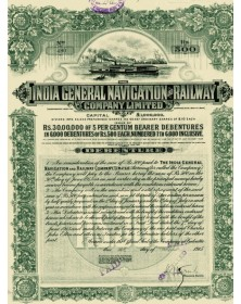 The India General Navigation and Railway co. Ltd