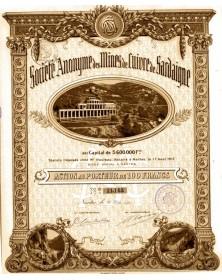 S.A. des Mines de Cuivre de Sardaigne
