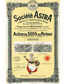 Sté Astra (Margarine)
