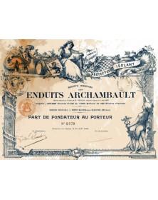 Sté des Enduits Archambault