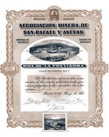"Negociacion Minera de San Rafael y Anexas, Mina de ""la Previsora"""