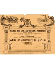 Cie du Chemin de Fer de Lyon-Croix-Paquet à Lyon-Croix-Rousse