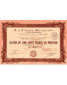 'La Croix Blanche'' à Nuits-St-Georges (Côte d'Or)