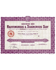 Raffineries & Sucreries SAY