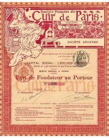 Sté Française du Cuir de Paris