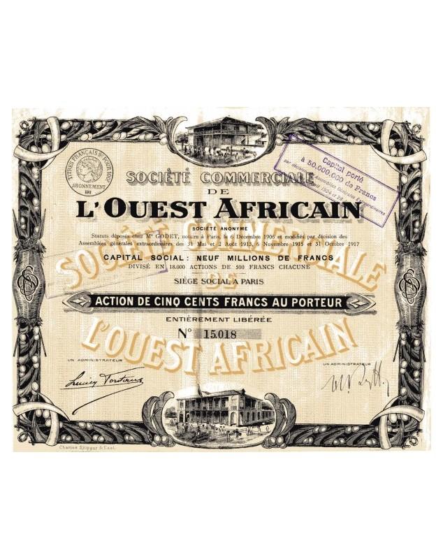 Sté Commerciale de L'Ouest Africain (SCOA)