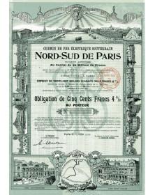 Chemin de Fer Electrique Souterrain Nord-Sud de Paris