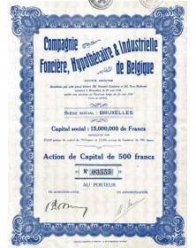 Cie Foncière, Hypothécaire & Industrielle de Belgique