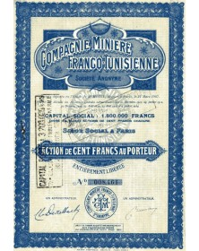 Cie Minière Franco-Tunisienne