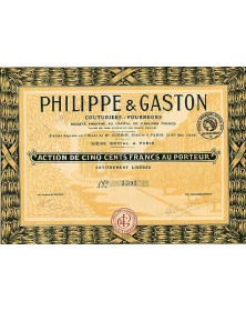 Philippe & Gaston Couturiers - Fourreurs