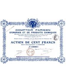 Comptoir Parisien d'Engrais et de Produits Chimiques