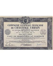 Cie Générale Française de Chauffage Urbain