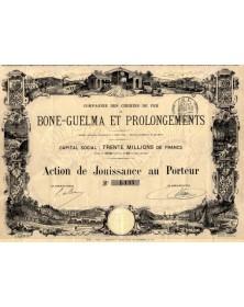 Cie des Chemins de Fer de Bone-Guelma et Prolongements
