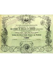 S.A. Française des Pêcheries et Chasses des Étangs de Virelles et Gonrieux (Hainaut Belgique)