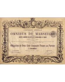 Cie Générale des Omnibus de Marseille