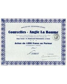 Sté Immobilière Courcelles - Angle La Baume