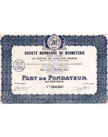Sté Normande de Bonneterie