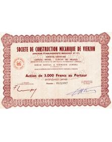 Sté de Construction Mécanique de Vierzon (Anciens Ets Brouhot)