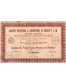Sté Hôtelière & Touristique du Réseau P.L.M.