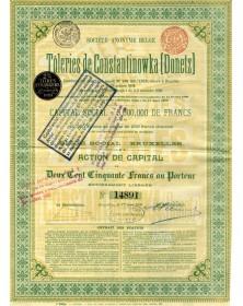 S.A. Belge des Tôleries de Constantinowka (Donetz)