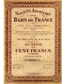 S.A. des Bars de France
