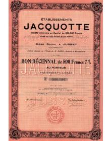Ets Jacquotte