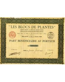 """-Les Blocs de Plantes-"""""""""""
