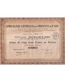 Cie Générale des Chiffons de Paris - Adine & Cie