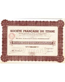 Sté Française du Titane