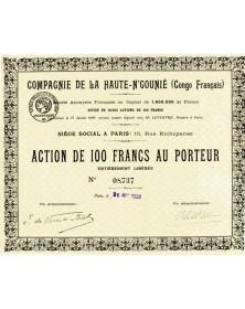 Cie de la Haute-N'Gounié (Congo Français)