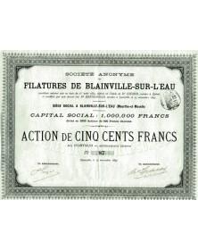 Filatures de Blanville-sur-L'Eau (Meurthe-et-Moselle)