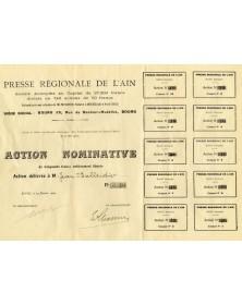 Presse Régionale de l'Ain