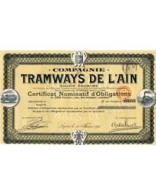 Cie des Tramways de l'Ain
