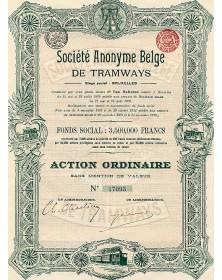 Sté Belge de Tramways