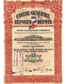 Caisse Générale de Reports et de Dépôts