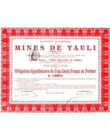 Sté des Mines de Yauli