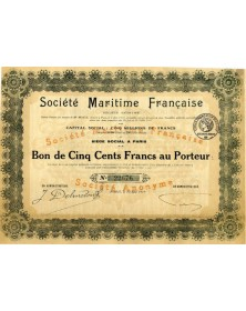 Sté Maritime Française