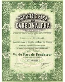 Sté Belge du Carbonalpha