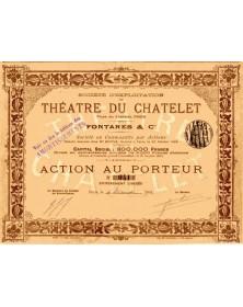 Sté d'Exploitation du Théatre du Chatelet