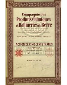 Cie des Produits Chimiques et Raffineries de Berre