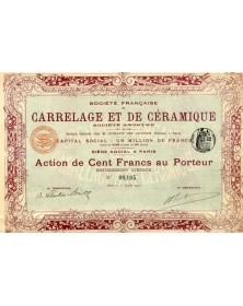 Sté Française de Carrelage et de Céramique