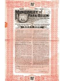 Municipality of Para (Belem) - 5% Funding Loan 1915