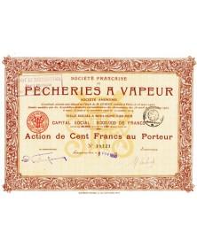 Sté Française de Pêcheries à Vapeur, North/Pas-de-Calais 62