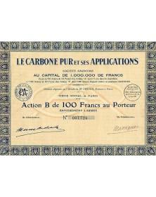 Le Carbone Pur et ses Applications