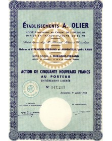 Etablissements A. Olier
