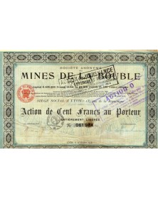 S.A. des Mines de la Bouble